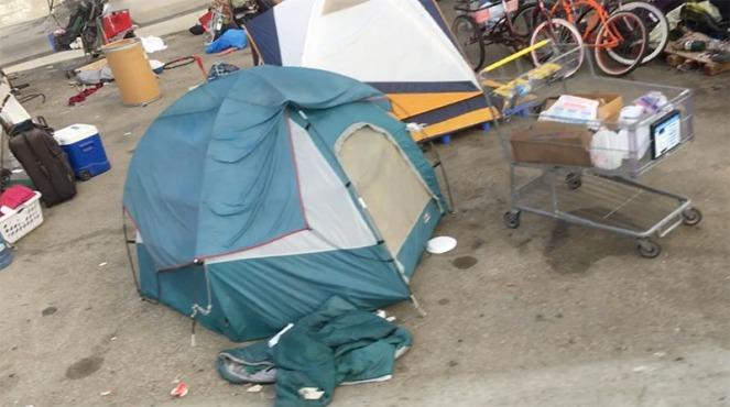 HomelessEncapment