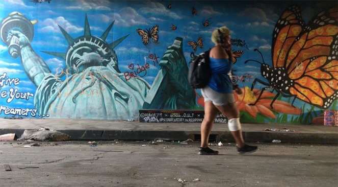 HomelessUnderBridge_Graffitti